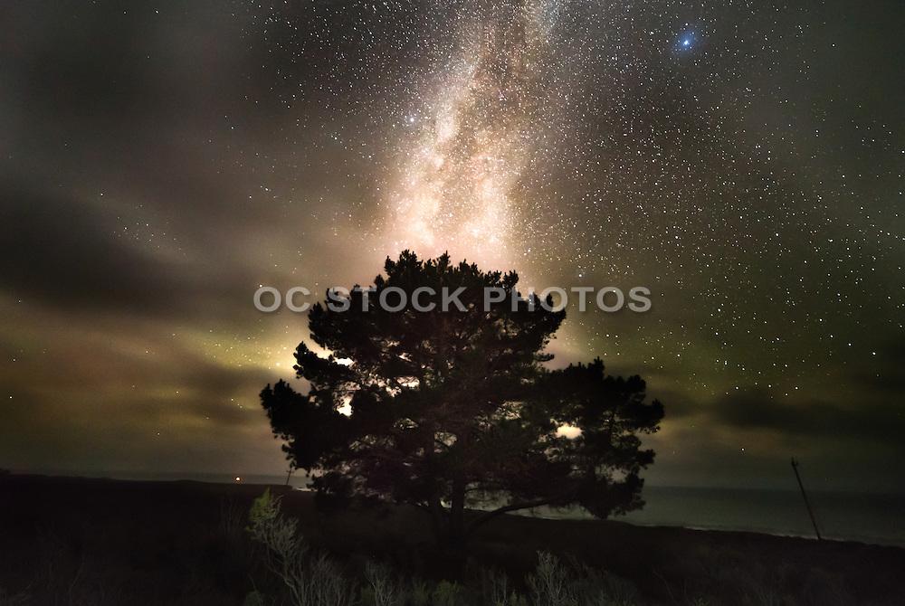 Montana de Oro State Park at Night