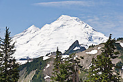 Mount Baker (10,781 feet), Mount Baker Wilderness, North Cascades mountains, Washington, USA