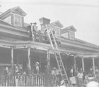 1921 Filming at Fox Studios in Hollywood