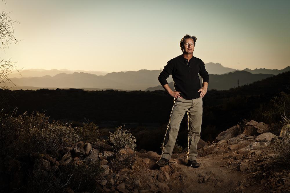 SCOTTSDALE, AZ - MARCH 16: Brandel Chamblee, photographed in Scottsdale, Arizona on March 16, 2012. Photograph © 2012 Darren Carroll