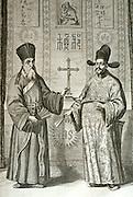 CHICAGO, ART INSTITUTE Jesuit Matteo Ricci bringing Christianity