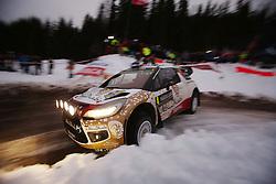 13.02.2015, Karlstad, Karlstad, SWE, FIA, WRC, Schweden Rallye, im Bild <br /> <br /> Rallye Sweden, Rally, WRC, Day Two 13.02.2015<br /> <br /> <br /> <br /> , Foto: Eibner // during the WRC Sweden Rallye at the Raga in Karlstad in Karlstad, Sweden on 2015/02/13. EXPA Pictures © 2015, PhotoCredit: EXPA/ Eibner-Pressefoto/ Bermel<br /> <br /> *****ATTENTION - OUT of GER*****
