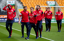 Bristol City arrive at Molineux for the Sky Bet Championship fixture with Wolverhampton Wanderers - Mandatory by-line: Robbie Stephenson/JMP - 12/09/2017 - FOOTBALL - Molineux - Wolverhampton, England - Wolverhampton Wanderers v Bristol City - Sky Bet Championship