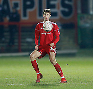 Accrington Stanley forward Dan Barlaser (26)  during the The FA Cup 3rd round match between Accrington Stanley and Ipswich Town at the Fraser Eagle Stadium, Accrington, England on 5 January 2019.