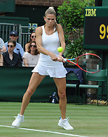 Tennis - 2021 All England Championship - Week One - Day Four (Thursday) - Wimbledon<br /> Karolina Muchova v Camila Giorgi<br /> <br /> Camila Giorgi of Italy<br /> <br /> CreditCOLORSPORT/Andrew Cowie