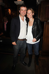 THEA SHARROCK and PAUL HANDLEY at 'Heavenly Ivy' a play to commemorate 20 years of The Ivy Restaurant, held at The Ivy, West Street, London on 8th November 2010.