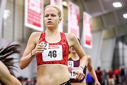 womens 3000 meters, heat 1, Atlanta TC, Abrahamson <br /> BU John Terrier Classic <br /> Indoor Track & Field Meet
