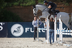 Ehrens Rob, (NED)<br /> Furusiyya FEI Nations Cup Jumping Final - Barcelona 2015<br /> © Dirk Caremans<br /> 23/09/15