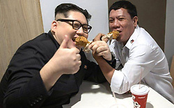 EXCLUSIVE: Kim Jong Un lookalike runs a talent agency of dictator impersonators - now they plan to cause chaos at Trump summit next week <br /> <br /> A KIM Jong Un lookalike is making millions from running a talent agency of dictator impersonators.<br /> <br /> Howard X is a dead ringer for the North Korean tyrant and has toured the world being mistaken as Jong Un, but it's his stable of world leader doubles that are making him megabucks.<br /> <br /> Now the band of lookalikes are planning to cause chaos when they land at the Kim Jong Un-Trump summit in Hanoi, Vietnam, on February 27.<br /> <br /> Aussie-born Howard is manager of Donald Trump impersonator Dennis Alan and the pair were detained by Singaporean authorities when they arrived for the first meeting of Jong Un and Trump last May.<br /> <br /> Howard is also the boss of the world's best doubles for Philippines hardman President Rodrigo Duterte and Vladimir Putin. He has other leaders and sports stars on his books such as Angela Merkel, Barrack Obama and Iranian-bases Lionel Messi.<br /> <br /> Howard, who now lives in Hong Kong and appeared on This Morning last year, says: 'I specialise in bringing together the political lookalikes, especially the ones that are just awful like Trump, Putin, Duterte and Kim.<br /> <br /> 'I am an agent and not only have I worked with lookalikes and impersonators from the political scene, but also handle other areas and have turned it into a very successful business. <br /> <br /> 'I invest in bringing together world leaders that would not otherwise get along in real life. It gives the public a glimpse of what is possible and to achieve peace. <br /> <br /> ;Me and Dennis always joke that it was us, who inspired the real leaders to get together after our photos of us kissing and holding hands went viral. <br /> <br /> 'Also I would like to put it out there to the public that I am looking for a lookalike of the Chinese President XI, as well as the newly elected fascist President Bolsonaro from Brazil as well. That would really complete the team of tyrants of the world.' <br /> <br /> Trump impersonat