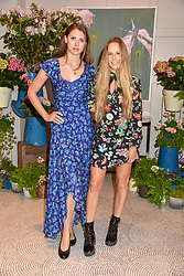 Left to right, Sabrina Percy and Hum Fleming at the Belmond Cadogan Hotel Grand Opening, Sloane Street, London England. 16 May 2019. <br /> <br /> ***For fees please contact us prior to publication***