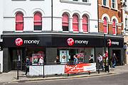 A Virgin money high street branch, Enfield, London.