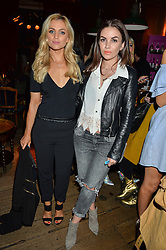 Left to right, EMMA WALSH and STACEY McCLEAN at a party to celebrate the launch of fashion retailer WeKoko.com held at Sketch, 9 Conduit Street, London on 13th April 2016.
