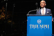 October 16, 2012-New York, NY : Rev. Al Sharpton, Founder & President, National Action Network tnat the 3rd Annual National Action Network Triumph Awards held at Jazz at Lincoln Center on October 16, 2012 in New York City. The Triumph Awards were established by the National Action Network to recognize the contributions of humanitarians from all walks of life and to encourage future generations to drum majors for justice. (Terrence Jennings)