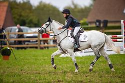 De Ridder Eline, BEL, Joe de la Grivardry<br /> Nationaal Tornooi LRV Ponies<br /> Zonnebeke 2019<br /> © Hippo Foto - Dirk Caremans<br />  29/09/2019
