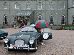 20 Aston Martins stop off at Inveraray Castle as part of the the SkyFall Tour. Aston Martin DB2, DB4 GT, DB5, DBS V8, DB7 and DB9 models were all present....... (c) Stephen Lawson | Edinburgh Elite media
