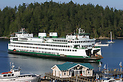 Ferry, Friday Harbor, San Juan Islands, Washington<br />