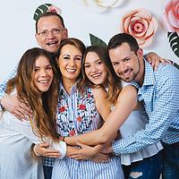 Monica Bandala y Familia