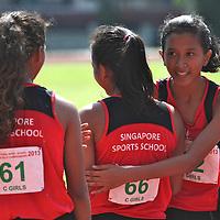 C Division Girls 200m