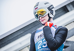 31.12.2018, Olympiaschanze, Garmisch Partenkirchen, GER, FIS Weltcup Skisprung, Vierschanzentournee, Garmisch Partenkirchen, Qualifikation, im Bild Roman Sergeevich Trofimov (RUS) // Roman Sergeevich Trofimov of Russian Federation during the qualifying for the Four Hills Tournament of FIS Ski Jumping World Cup at the Olympiaschanze in Garmisch Partenkirchen, Germany on 2018/12/31. EXPA Pictures © 2018, PhotoCredit: EXPA/ Stefanie Oberhauser