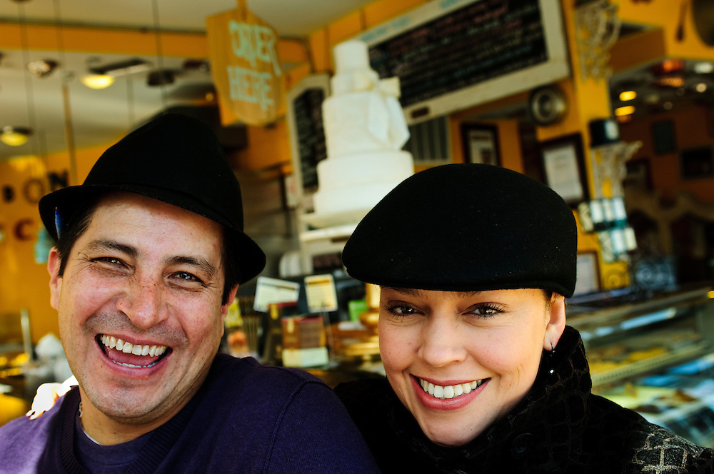 Laura Cid-Perea and Luis Perea are the husband and wife team behind Chicago's BomBon Cafe, a local pastry empire that began in the city's Mexican encalve of Pilsen in 2001. They've since expanded to three additional locations along with their newest restaurant venture at La Lagarjita Taqueria.