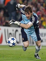 03-05-2011 VOETBAL: SEMI FINAL CL  FC BARCELONA - REAL MADRID: BARCELONA<br /> Iker Casillas<br /> *** NETHERLANDS ONLY***<br /> ©2011-FH.nl- EXPA/ Alterphotos/ Acero