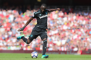 West Ham United midfielder Cheikhou Kouyate (8) during the Premier League match between Arsenal and West Ham United at the Emirates Stadium, London, England on 22 April 2018. Picture by Bennett Dean.