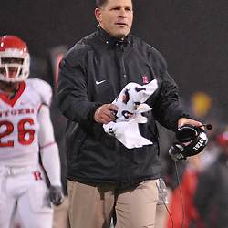 Oct 23, 2009; West Point, N.Y., USA; Rutgers head coach Greg Schiano watches from the sidelines during Rutgers' 27 - 10 victory over Army at Michie Stadium.