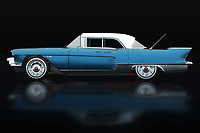 This painting of the Cadillac Eldorado Brougham production year 1957 in profile against a black background can be purchased in various sizes and printed on canvas as well as wood and metal. You can also have the painting finished with an acrylic plate over it which gives it more depth. This painting can be printed on a very large format -<br /> BUY THIS PRINT AT<br /> <br /> FINE ART AMERICA<br /> ENGLISH<br /> https://janke.pixels.com/featured/1-cadillac-eldorado-brougham-built-in-1957-lateral-view-jan-keteleer.html<br /> <br /> WADM / OH MY PRINTS<br /> DUTCH / FRENCH / GERMAN<br /> https://www.werkaandemuur.nl/nl/shopwerk/Cadillac-Eldorado-Brougham-gebouwd-in-1957-Lateral-View-Blauw/737033/132?mediumId=11&size=75x50<br /> <br /> -