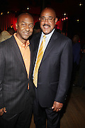 l to r: Stephen Hill and Charles Warfield at The Urban Network Magazine and Alistair Entertainment V.I.P Reception honoring Stephen Hill & Charles Warfield & theCelebration of Urban Network's 21st Anniversary held at the Canal Room on May 13, 2009 in New York City .