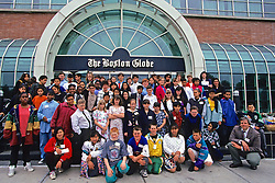 Photo By Kids Trip To The Boston Globe