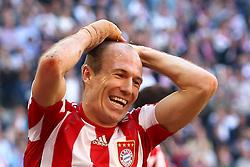 02-04-2011 VOETBAL: BAYERN MUNCHEN - BORUSSIA MONCHENGLADBACH: MUNCHEN<br /> Arjen Robben<br /> **NETHERLANDS ONLY**<br /> ©2011-RHP/NPH-Straubmeier