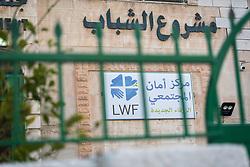 17 February 2020, Zarqa, Jordan: The Lutheran World Federation community centre in Zarqa.
