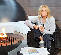 """Veronica Ferres releases a photo on Instagram with the following caption: """"Cozy winter times \ud83d\udd25\u2744\ufe0f"""". Photo Credit: Instagram *** No USA Distribution *** For Editorial Use Only *** Not to be Published in Books or Photo Books ***  Please note: Fees charged by the agency are for the agency's services only, and do not, nor are they intended to, convey to the user any ownership of Copyright or License in the material. The agency does not claim any ownership including but not limited to Copyright or License in the attached material. By publishing this material you expressly agree to indemnify and to hold the agency and its directors, shareholders and employees harmless from any loss, claims, damages, demands, expenses (including legal fees), or any causes of action or allegation against the agency arising out of or connected in any way with publication of the material."""