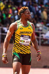 Penn Relays, USA vs the World, mens 4 x 200 meter relay, Livermore, Jamaica
