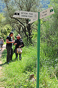 Israel, Western Galilee, Wadi Kziv Nature Reserve