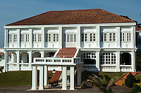 The Governor's Museum, also known as Muzium Yang Di-Pertua Negeri or Muzium Tuan Yang Terutama, is one of the many museums in Malacca. Formerly called Seri Melaka, the museum is housed in the former official residence and office of the Dutch Governor of Malacca on St Paul's Hill. The building was used as the official residence of the Tuan Yang Terutama, which is the title of the governor until September 1996. The museum showcases the personal belongings of the various governors of Malacca since independence, beginning with the first Governor of Malacca, Tun Leong Yew Koh. Seri Melaka was office and official home for the Dutch Governors in the 17th century. It is located on St. Paul's Hill which was earlier known as Bukit Melaka or Melaka Hill. This was also the site of the palace of the Melaka Sultanate before the Portuguese.
