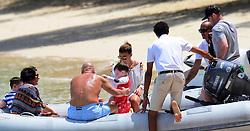 EXCLUSIVE: Wayne Rooney and family pictured onboard a catamaranan Barbados. 31 May 2017 Pictured: wayne rooney and family. Photo credit: Shanice King/246paps / MEGA TheMegaAgency.com +1 888 505 6342