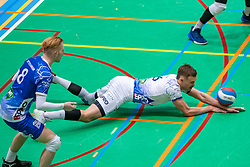 Thomas Douglas Powell of Lycurgus in action during the league match between Active Living Orion vs. Amysoft Lycurgus on March 20, 2021 in Doetinchem.