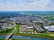 Nederland, Gelderland, Gemeente Zutphen, 21–06-2020; Twentekanaal (Zutphen - Enschede) nabij industriegebied De Mars, richting Zutphen, IJssel rechts.<br /> Twente Canal (Zutphen - Enschede) near industrial area De Mars, direction Zutphen, IJssel right.<br /> <br /> luchtfoto (toeslag op standaard tarieven);<br /> aerial photo (additional fee required)<br /> copyright © 2020 foto/photo Siebe Swart