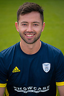 Ian Holland of Hampshire during the 2019 press day for Hampshire County Cricket Club at the Ageas Bowl, Southampton, United Kingdom on 27 March 2019.