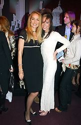 Left to right, JERRY HALL and TARA PALMER-TOMKINSON at the English National Opera's 'On The Town' presented by SKY and Artsworld followed by a Tribute to Leonard Bernstein hosted by Jerry Hall at The London Coliseum, St.Martin's Lane, London WC2 on 11th May 2005.