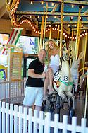 LAHASKA, PA - JUNE 2: Sandy & Don are photographed June 2, 2012 at Peddler's Village in Lahaska, Pennsylvania. (Photo by William Thomas Cain/Cain Images)