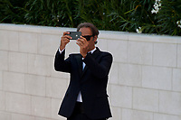 Venice, Italy, 30th August 2019, Alexandre Desplat at the gala screening of the film J'Accuse (An Officer And A Spy) at the 76th Venice Film Festival, Sala Grande. Credit: Doreen Kennedy/Alamy Live News