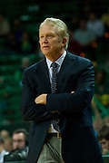 WACO, TX - DECEMBER 18: Northwestern State Demons head coach Mike McConathy looks on against the Baylor Bears on December 18 at the Ferrell Center in Waco, Texas.  (Photo by Cooper Neill/Getty Images) *** Local Caption *** Mike McConathy