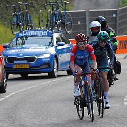 18-04-2021: Wielrennen: Amstel Gold Race women: Berg en Terblijt: Kathrin Hammes: Quinty Ton