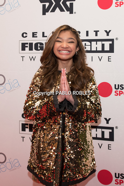 Angelica Hale attends the Celebrity Fight Night event on March 23, 2019 in Scottsdale, AZ.