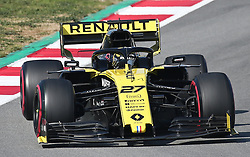 February 28, 2019 - Barcelona, Spain - the Renault of Nico Hulkenberg during the Formula 1 test in Barcelona, on 28th February 2019, in Barcelona, Spain. Photo: Joan Valls/Urbanandsport /NurPhoto. (Credit Image: © Joan Valls/NurPhoto via ZUMA Press)