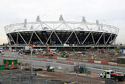 """Olympic bosses back West Ham bid, West Ham have won the backing of Olympic bosses to take over the 2012 stadium in east London after the Games, BBC London reports.© under license to London News Pictures. 07/02/2011. West Ham vice-chairman Karren Brady has claimed it would be a """"corporate crime"""" to demolish the Olympic Stadium once the 2012 London Games are over. West Ham are currently vying with Tottenham to move into the venue after the Olympics. Picture credit should read Grant Falvey/London News Pictures."""