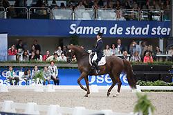Vanommeslaghe Laurence, (BEL), Avec Plaisir<br /> CDI 5* Grand Prix Special<br /> CHIO Rotterdam 2015<br /> © Hippo Foto - Dirk Caremans<br /> 20/06/15