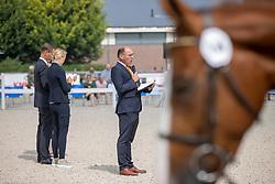 Dirksen Henk, NED<br /> Nationaal Kampioenschap KWPN<br /> 3 jarige springmerries<br /> © Hippo Foto - Dirk Caremans<br />  15/08/2020